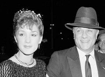Tony Curtis and Andrea Savio