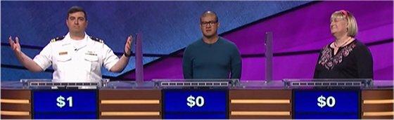 Final Jeopardy (10/17/2017) Manny Abell, Carlos Nobleza Posas, Fran Fried