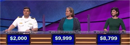 Final Jeopardy (10/18/2017) Manny Abell, Joanna Kimmitt, Chelsea Feltman
