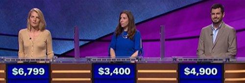 Final Jeopardy (10/24/2017) Nan Bauer, Kristina Witzling, Rod Swain
