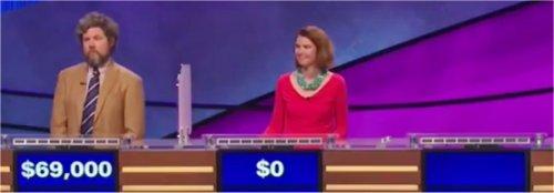 Final Jeopardy (10/3/2017) Austin Rogers, Amy Servat, Ryan Hughey