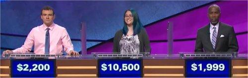 Final Jeopardy (11/21/2017) Eric Maher, Kiana Nakamura, Wilbur Farley