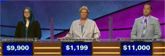 Final Jeopardy (11/23/2017) Kiana Nakamura, Liz Schultz, Jesse Parks