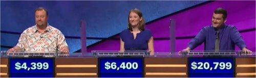 Final Jeopardy (11/28/2017) Marcus Gresham, Amanda Barlau, Matt Preston