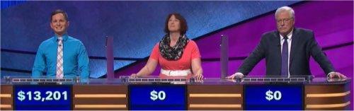 Final Jeopardy (12/6/2017) Kyle Becker, Lindsay Norsworthy, Eric Dravler