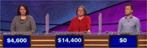 Final Jeopardy (9/11/2017) Shadi Peterman, Laura Kelsay, Andrew Clyne