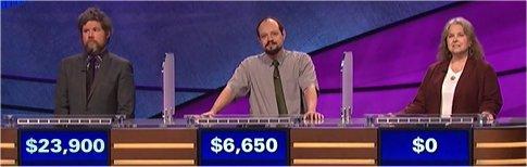 Final Jeopardy (9/27/2017) Austin Rogers, Pasha Paterson, Jennie Floyd