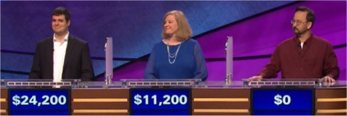 Final Jeopardy (1/17/2017) John Avila, Pete Tachibana, Andrea Keppers