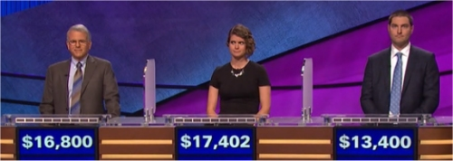Final Jeopardy (1/9/2017) Joe Bartolomeo, Blair Moorhead, Jack Paleczny
