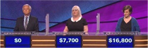 Final Jeopardy (10/21/2016) Doug Hartman, Katie Landers, Lani Gonzalez