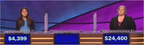 Final Jeopardy (10/31/2016) Julia Lee, Jon Frank, Thea Lawton