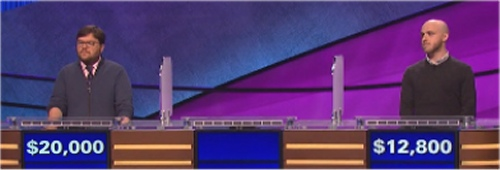Final Jeopardy (10-4-2016) Seth Wilson, Joe Schneider, Ben Wynns