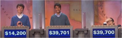 Final Jeopardy (11/22/2016) Michael Borecki