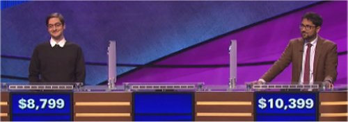 Final Jeopardy (12/1/2016) Justin Bender, Kylie Carrithers, Asim Modi
