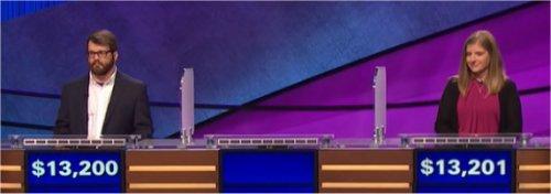 Final Jeopardy (12/26/2016) Sam Scovill, Wren Allen, Stephanie Schlatter