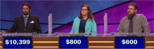 Final Jeopardy (12/30/2016) Mukund Marathe, Kate Gran, Ryan Vanderyacht