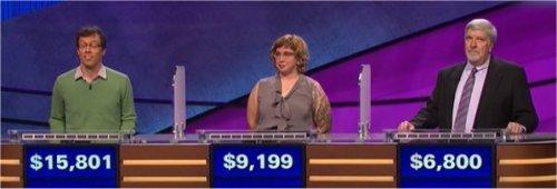 Final Jeopardy (3/16/2017) Grant McSheffrey, Gretchen Neidhardt, Steve Pecukonis