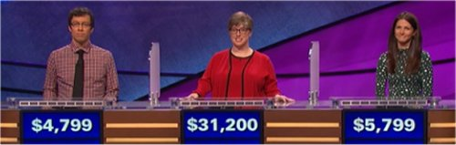 Final Jeopardy (3/17/2017) Grant McSheffrey, Rebecca Wald, Holly Stewart