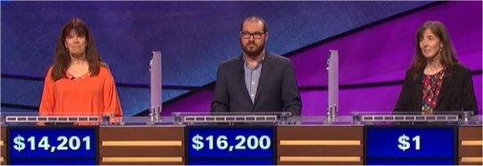 Final Jeopardy (4/10/2017) Pat Greiner, Greg Chin, Maren Beazer