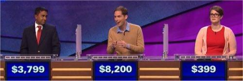 Final Jeopardy (4/21/2017) Nilanka Seneviratne, David Rigsby, Meghan Phillips