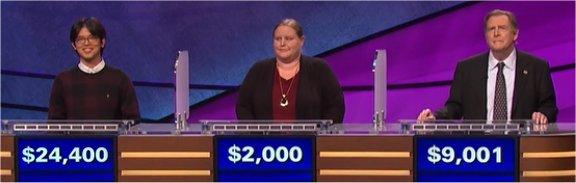 Final Jeopardy (4/28/2017) Alan Lin, Rachel Snyder, Kevin McCarthy