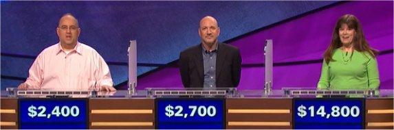 Final Jeopardy (4/7/2017) David Gatewood, Brad Shumel, Pat Greiner