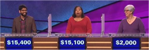Final Jeopardy: Pranjal Vachaspati, Karen Lazar and Monica Mann