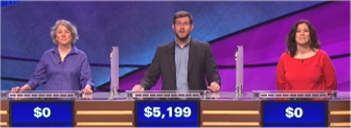 Final Jeopardy featuring Liz Hedreen, TJ Bateman and Julie Vazquez-Souza