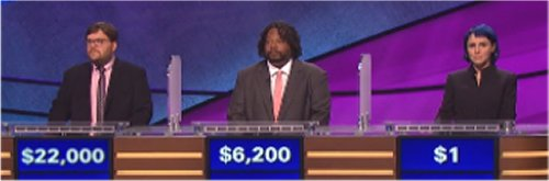 Final Jeopardy (9-30-16) Seth Wilson, Walt Livingston and Erica Dreisbach
