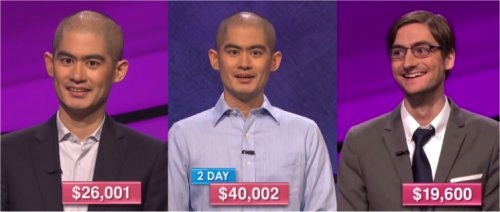 Jeopardy champs Nov 23-25, 2016