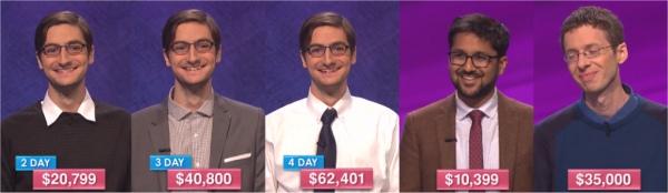 Jeopardy champs Nov 28-Dec 2, 2016