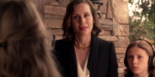 Embeth Davidtz and Mila Brener in Ray Donovan
