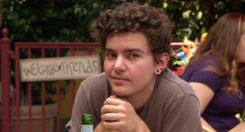 Elliot Fletcher as Trevor in Shameless