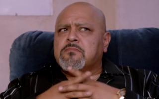Rolando Molina as Jesus in Shameless