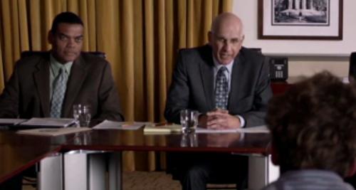 George Wyner as Provost Keegan in Shameless