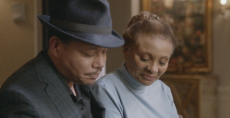 Lucious (Terrence Howard) and Leah (Leslie Uggams)