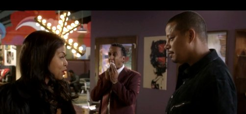 Andre Royo and Taraji P. Henson in Empire