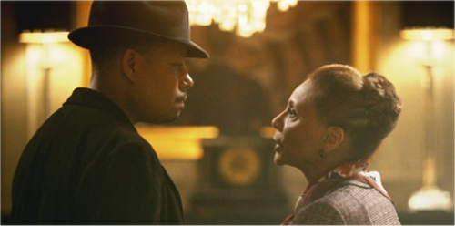 Terrence Howard and Leslie Uggams as mother and son in Empire