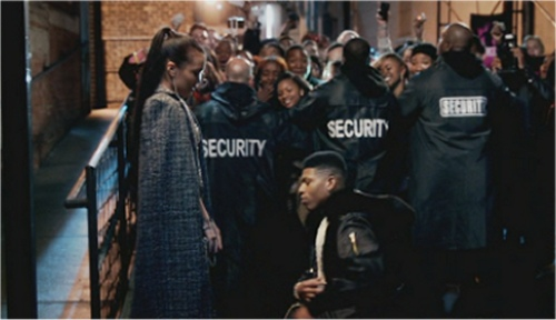 Jamila Velazquez (Laura) and Bryshere Y. Gray (Hakeem) in Empire