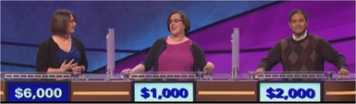 Final Jeopardy Results: 1-14-16