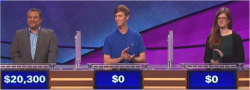 Final Jeopardy Results for January 25, 2016