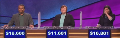 Final Jeopardy Results for January 28, 2016