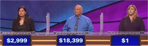 Final Jeopardy Results for January 16, 2016