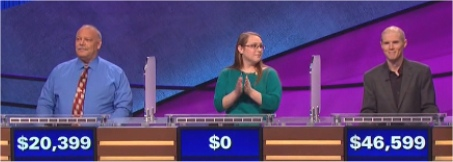 Final Jeopardy Results for February 17, 2016
