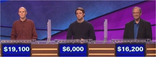 Final Jeopardy Results for February 19, 2016