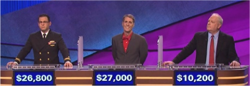 Final Jeopardy Results for February 26, 2016