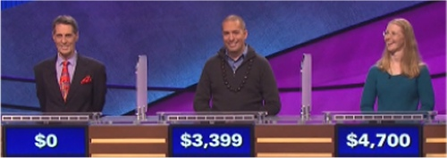 Final Jeopardy! Results for March 1, 2016