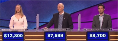 Final Jeopardy Results for March 2, 2016