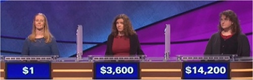 Final Jeopardy Results for March 4, 2016