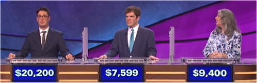 Final Jeopardy Results for Thursday, April 28, 2016